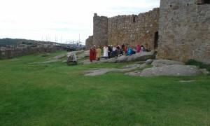 Lekcja historii  - zamek Hammershus
