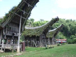 Tradycyjna wioska Toraja